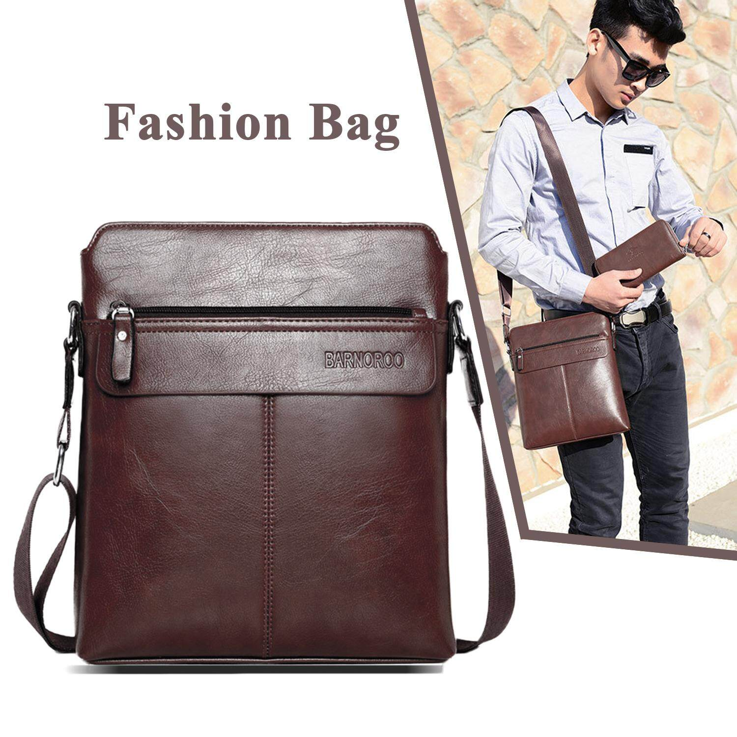 5a4395162fa7 iFlashDeal Sling Bag Men Messenger Bags PU Leather Crossbody Shoulder Pouch  Bags Business Bags Men Fashion