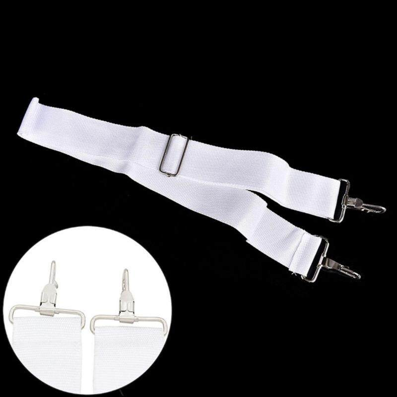 Adjustable Nylon Parade Marching Snare Drum Sling Strap Belt Parts & Accessories White