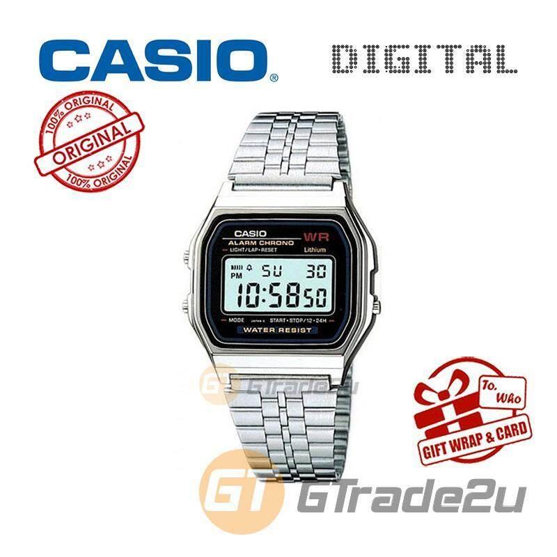 CASIO STANDARD A159W-N1 Digital Watch  Daily Alarm Malaysia