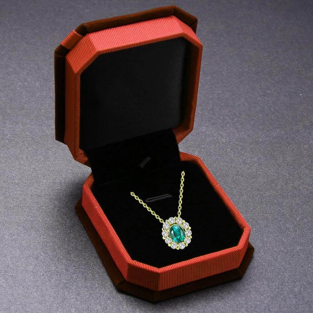 ... berwarna merah muda dan. Source · Leegoal Berkelompok Oktagonal Busur Beludru Lingkaran Organizer Perhiasan Hadiah Kotak untuk Pernikahan-