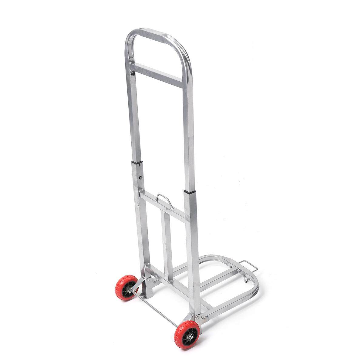 20kg Heavy Duty Lightweight Folding Foldable Hand Cart Trolley Barrow Sack Truck - Intl By Audew.
