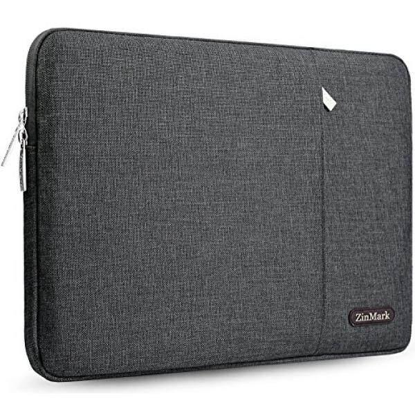 Cinemark 13-13.3 Inch Kasus Lengan Laptop Kompatibel dengan 13.3 Macbook Udara/Macbook Pro/Pro Retina Paling 14 Inch Dell/Asus/Acer/Ponsel/TOSHIBA/Lenovo dengan Spill-Tahan, abu-abu Gelap-Internasional