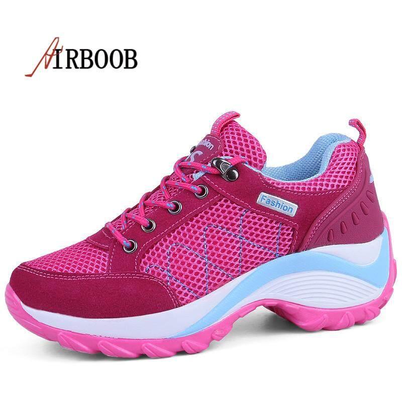 Airboob Wanita Sepatu Mendaki Tahan Lama Gunung Sepatu Mendaki Sepatu  Trekking Tahan Lama afb22523d0