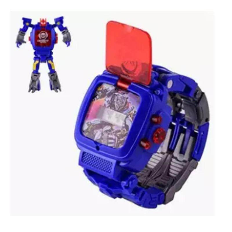 2 in 1 Robot Watch for kids/Children Set Malaysia