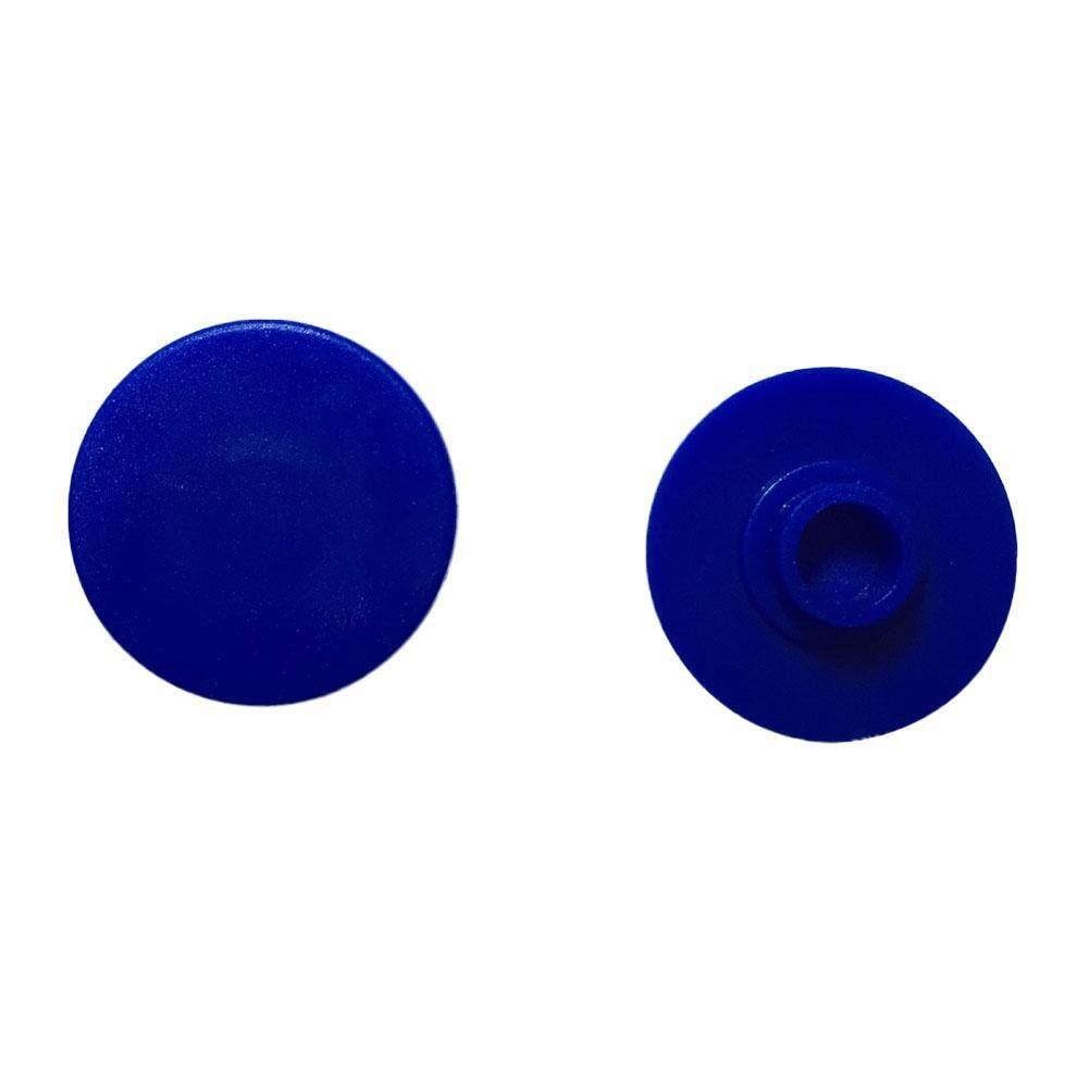 AUkEy Toko Spinner Cap untuk Spinner Gelisah Mainan EDC Tangan Spinner Jari Meja Fokus Anak Biru
