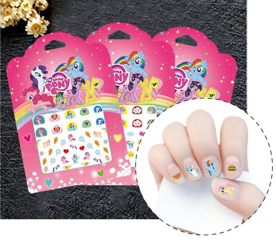 Little Pony nail stickers for kids x 2 pcs