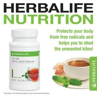Herbalife Lemon & Hibiscus Tea Mix 50g