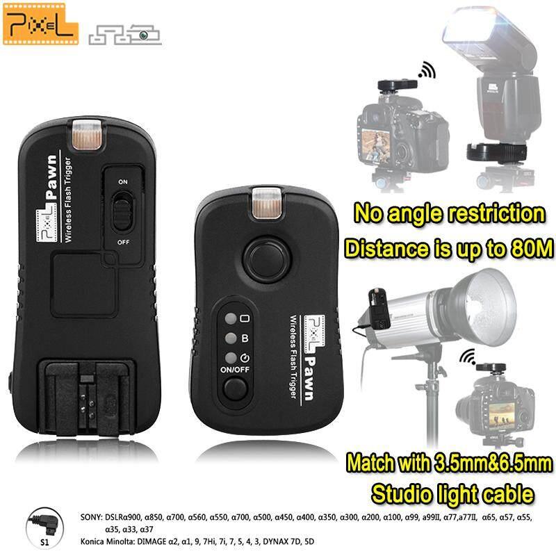 Pixel TF-363 Multifungsi 2.4G Nirkabel Pemicu Flash Penutup Remote Control untuk Sony Digital Kamera SLR A99 A99II A77 A77II A56 A57 A55 a35 A33 A37