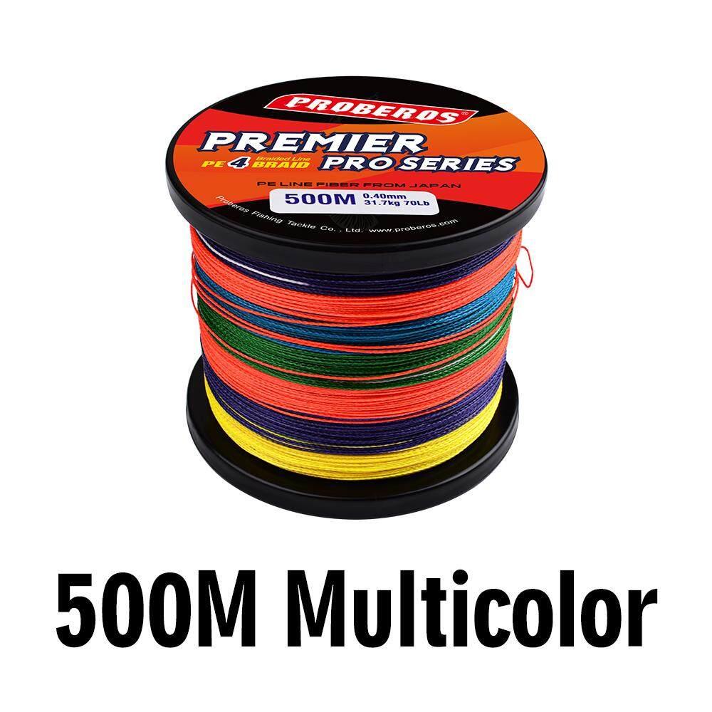 Multicolor 500 M Merek Proberos Momoti Seri Jepang Wire P 4 Senar Pancing 6 8