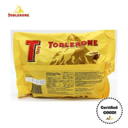 Toblerone Tiny Swiss Milk Chocolate with Honey & Almond Nougat 200g