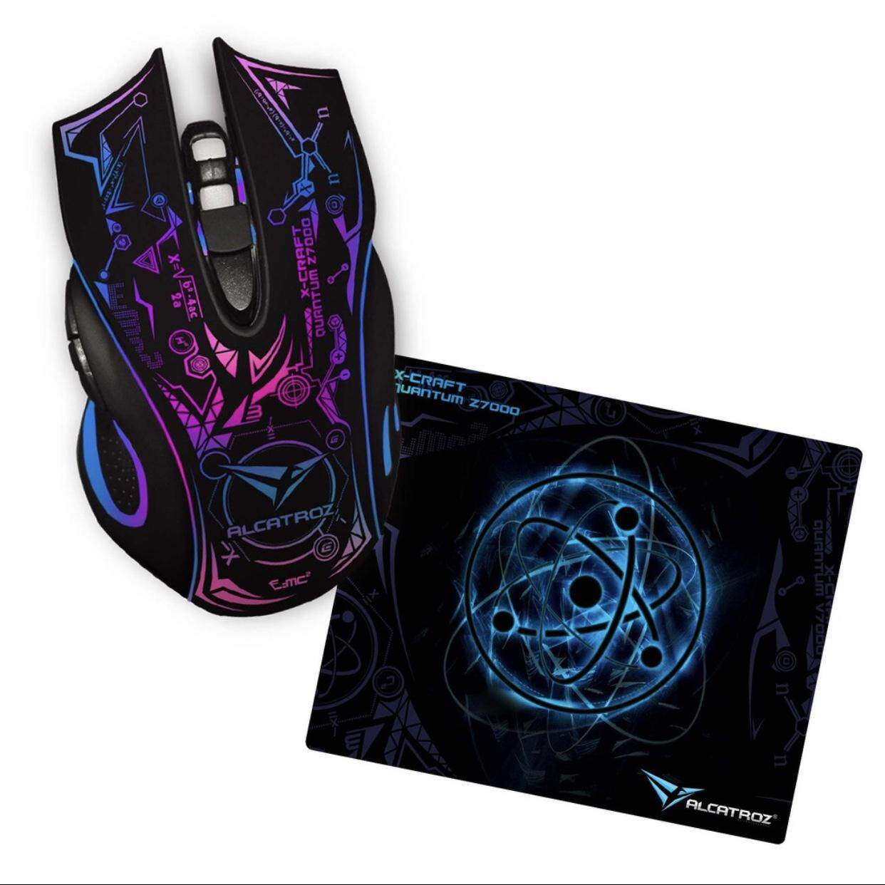 Alcatroz X-Craft Series Gaming Mouse Free Mouse Pad Malaysia