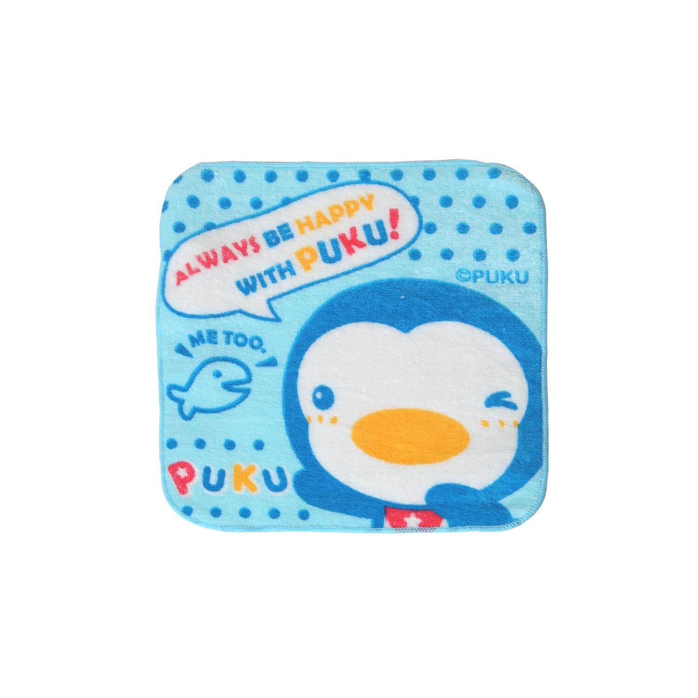 Puku Baby Handkerchief 21*21cm (Blue)