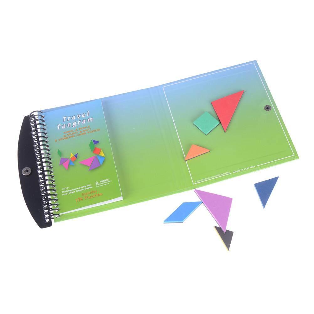 Hình ảnh 150 Câu Đố Sách Từ Đồ Chơi Tangram Thử Thách IQ Montessori Đầu Giáo Dục Quà Tặng