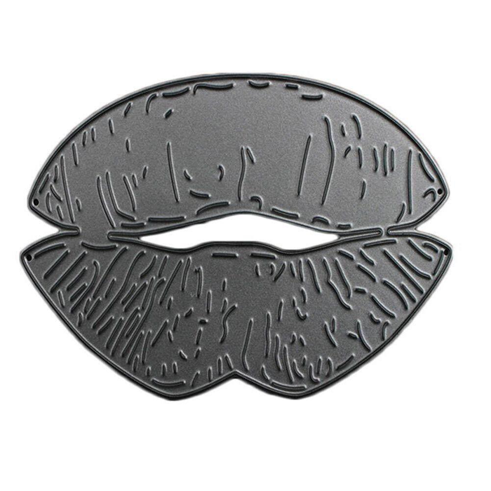 Lip Diy Scrapbooking Cutting Dies For Album Photo Cards Scrapbook Stencils Carbon Steel Cutters - Intl By Sunnny2015.