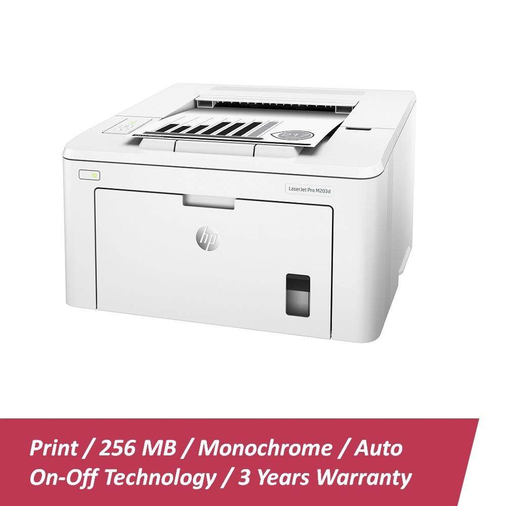 HP Mono LaserJet Pro M203d Printer - (G3Q50A)
