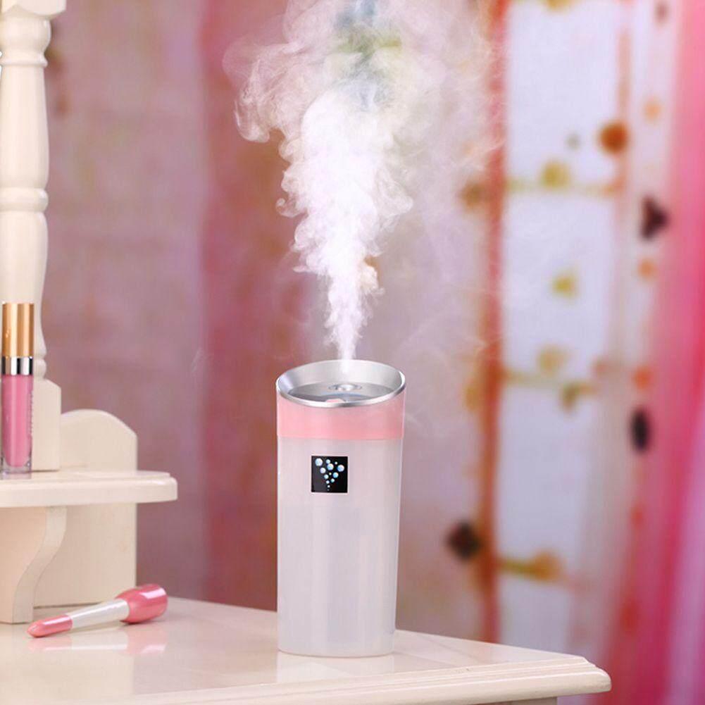 300ML Ultrasonic Humidifier USB Car Humidifier Mini Aroma ESSential Oil Diffuser Aromatherapy Mist .