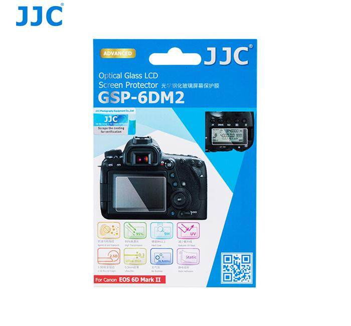 JJC GSP-6DII Tempered Glass Camera Screen Protector For Canon 6D Mark II