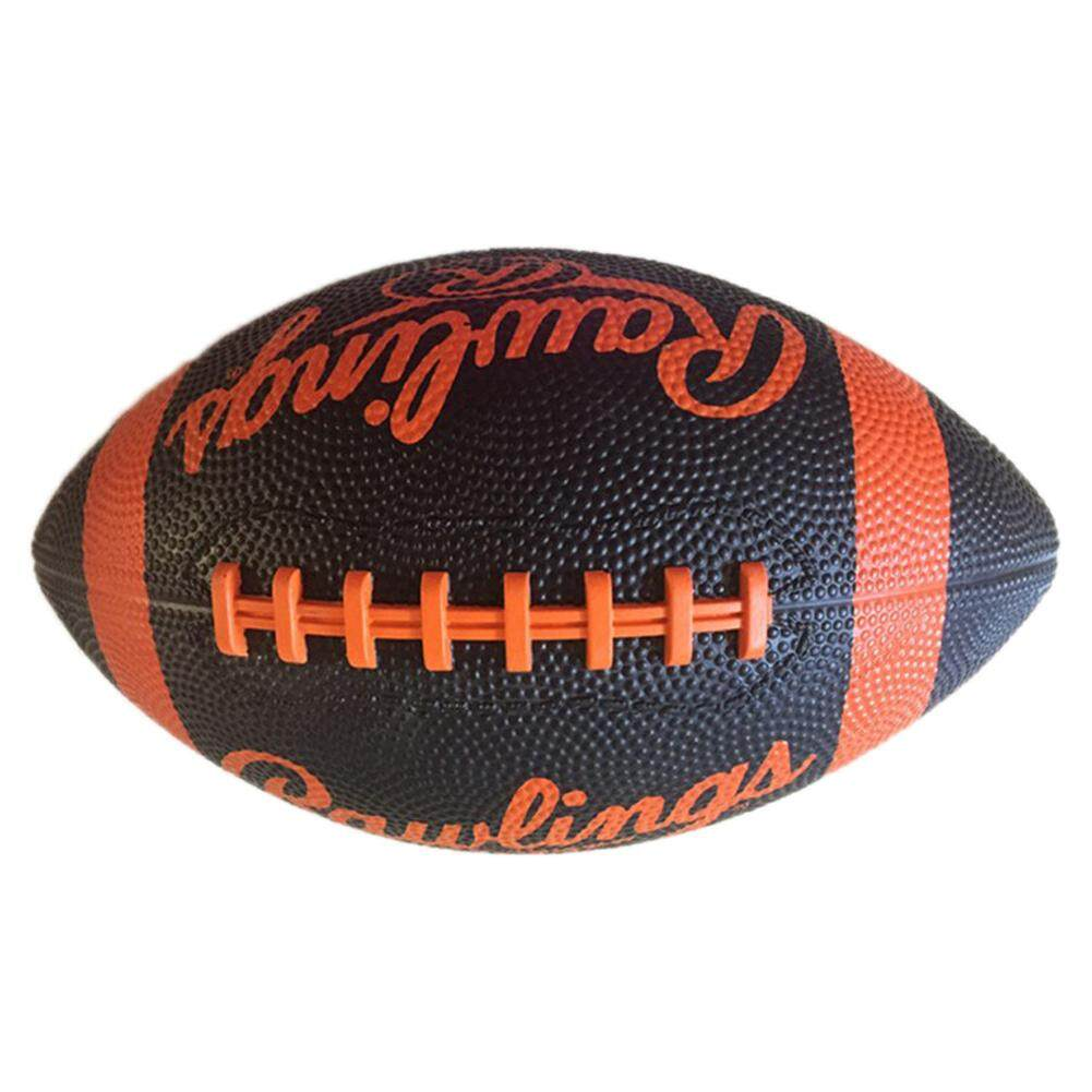 American Size 7 Durable Wear Resistance Training Playing Rubber Rugby Ball Foolball Color Random Christmas Gifts By Pellet12.