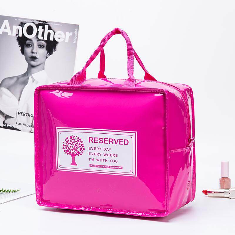 JOHNN New 【FAST DELIVERY】 High capacity Korea cosmetic Storage bag Multifunction Simple Portable wash bag