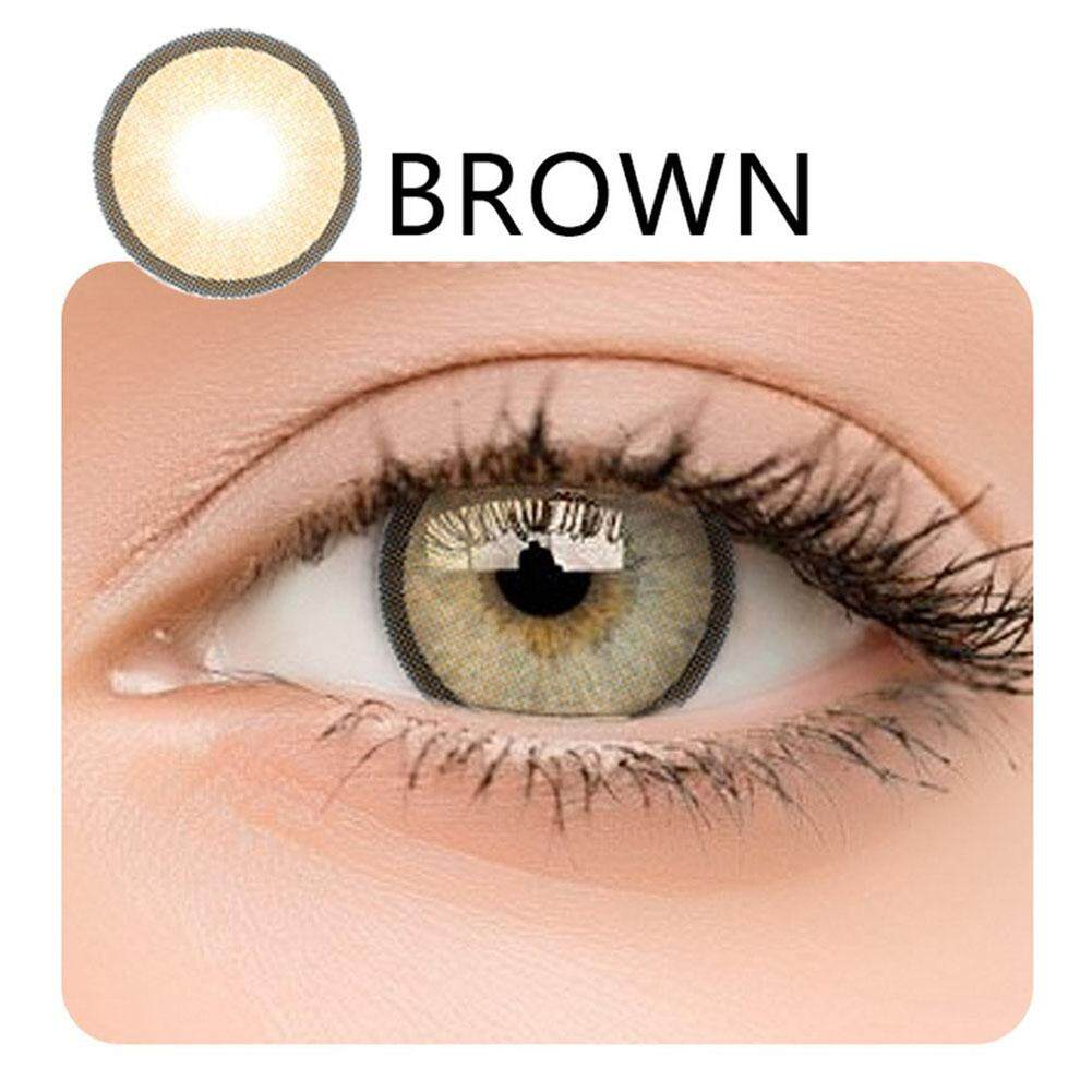 2PCS/SET Soft Big Eye Coloured Contact Lenses Enlarge Eyes Women Makeup Cosmetic Big Eye