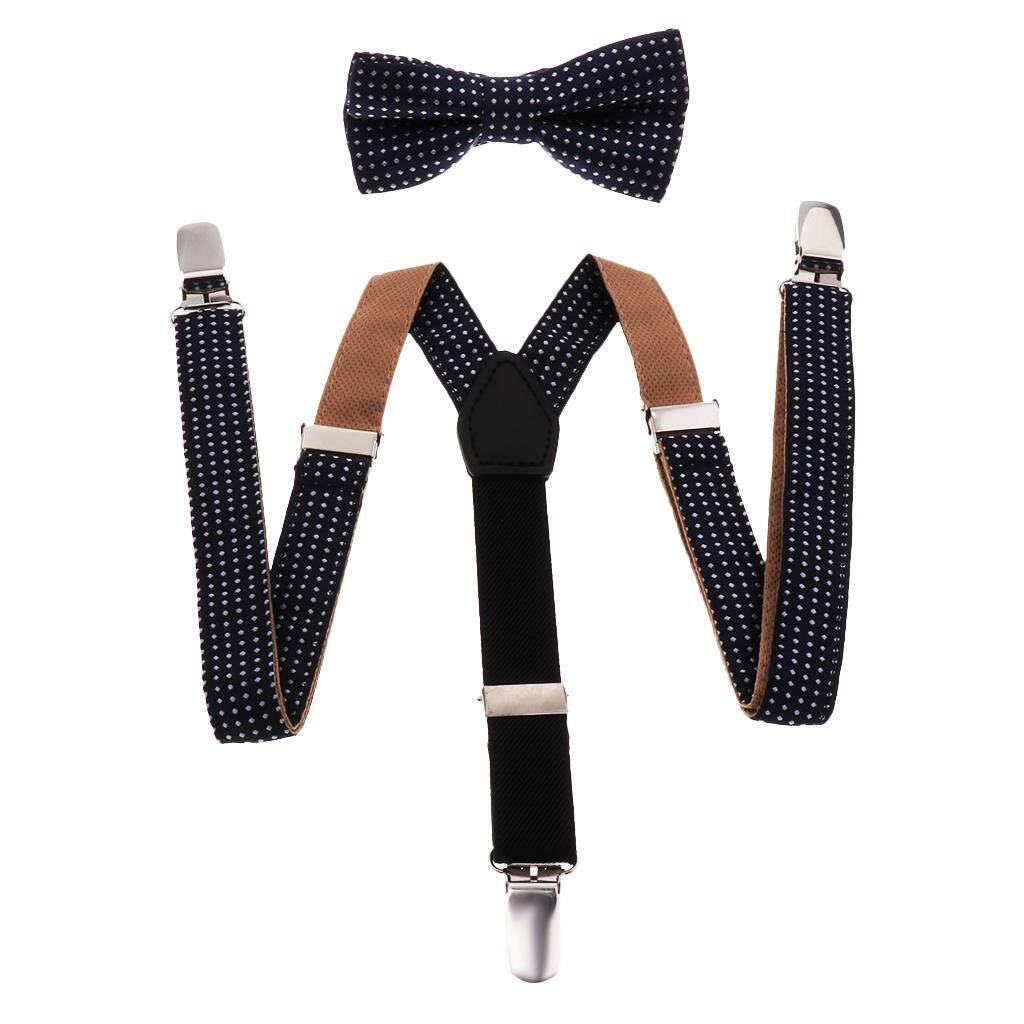 Suspenders Y-shape Braces Adjustable Clip On Suspenders 1 5 15 Year Checkered Punk Unisex Accessories