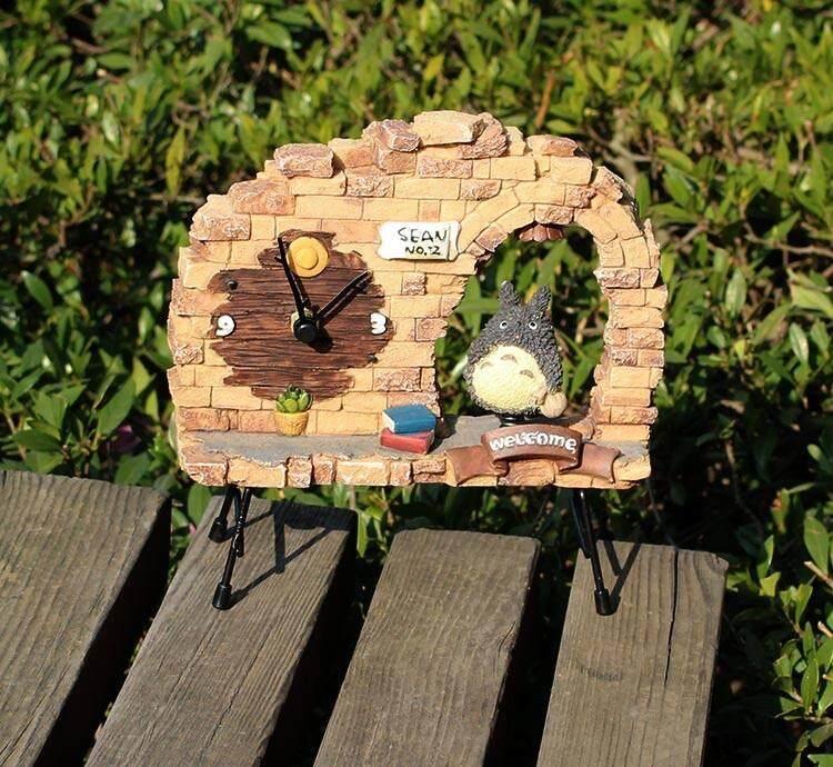 Totoro Clock(Money Bag)