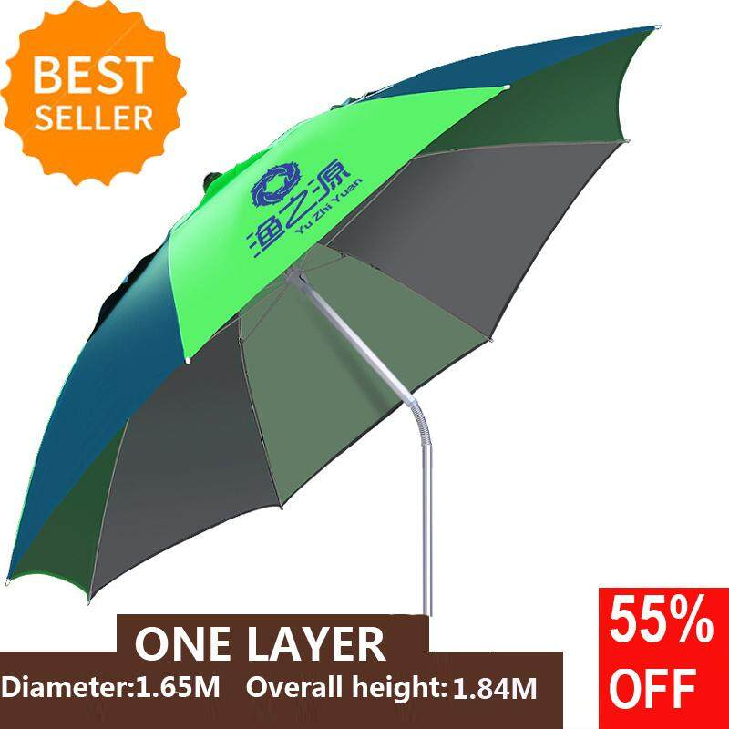 HOT SALE Foldable Outdoor Canopy 360º Rotating Sunshade Portable Adjustable Fishing Umbrella Tent Anti-UV Sunscreen Umbrellas for Fishing Beach Camping Picnic Home Garden Park Beach Umbrellas