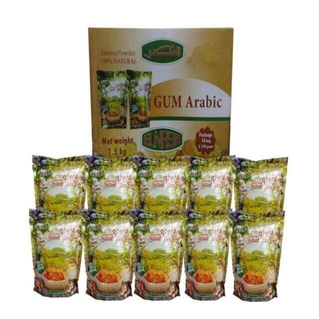 arabic gum elnasr (10packs x 150g)