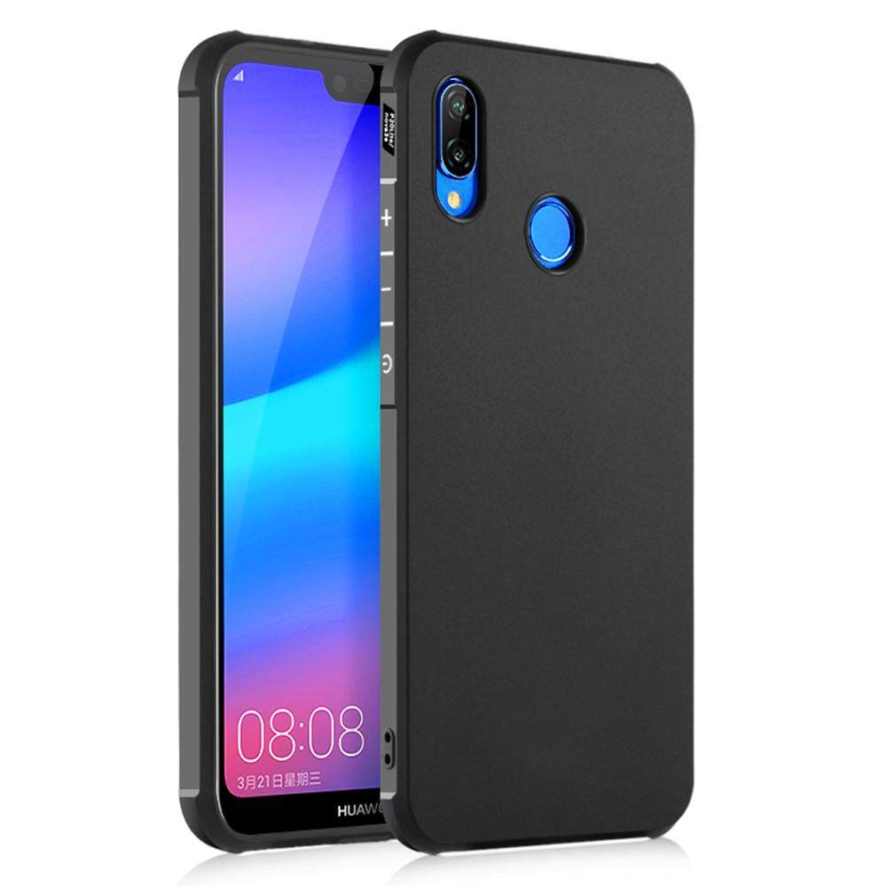Moonmini Case untuk Ultra Tipis Lembut Silikon Karet Case Anti Guncangan Pelindung Sarung untuk Huawei P20 Lite/Huawei Nova 3E -Internasional