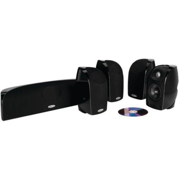 ยี่ห้อไหนดี  อุทัยธานี Polk Audio TL250 Compact  High Performance Home Theater System (5-pack  Black)