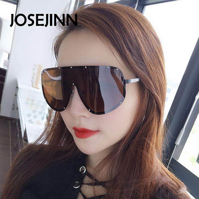 ₱434.00JOSEJINN Large Oversized Shield Polarized Mirrored Sunglasses For Women  Men dbe0b1320d