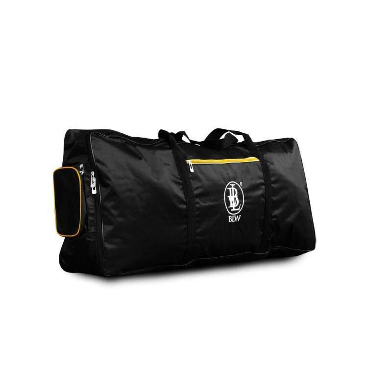 BLW Sponge Padded 3 Compartments 61 Keys Keyboard Bag Soft case (Black) Malaysia