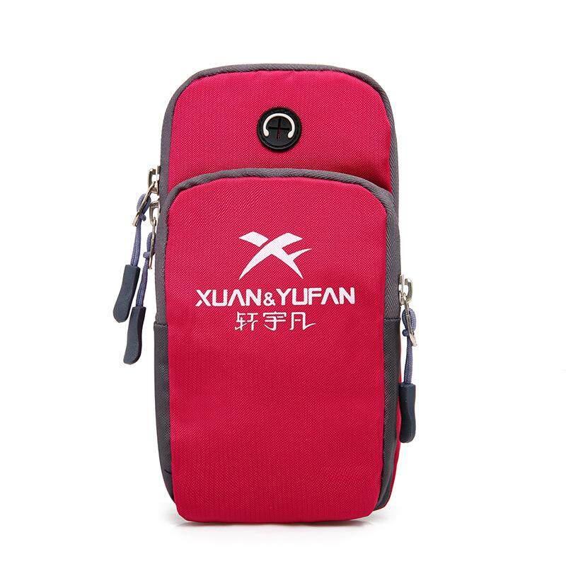 New Outdoor Sports Arm Bag Fitness Running Phone Bag Waterproof Ransel Sukan Dan Santai - intl