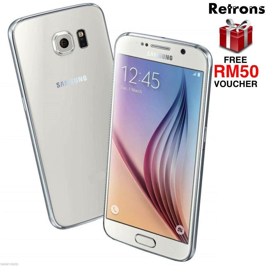 802056c9a4a [Retrons Quality] Samsung Galaxy S6 4G 32GB G920 WHITE (Refurbished)