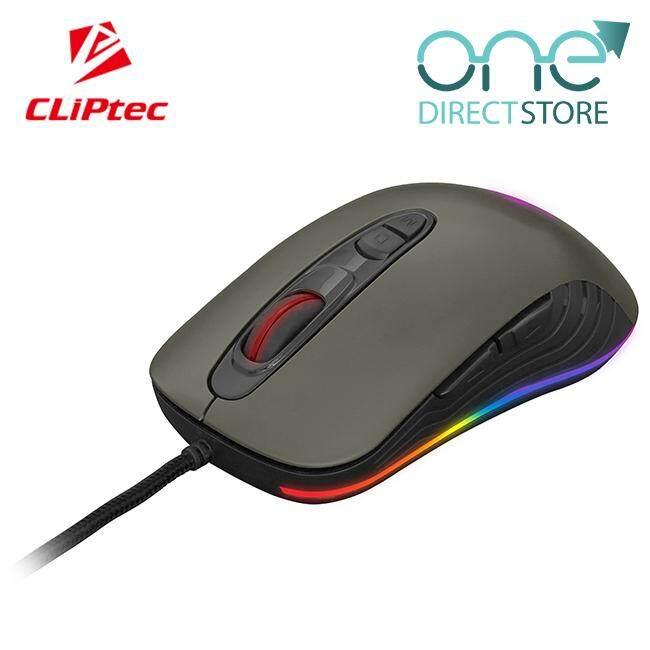 CLiPtec TAUSONOT USB RGB 4800dpi Pro-Gaming Mouse RGS575