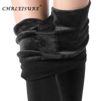 497b3f1ca6 การส่งเสริม Cherleisure Winter Warm Pants Women Plus Size High Waist  Leggings Female Trousers Velvet Thick Solid Pantolon Femme ซื้อที่ไหน -  มีเพียง ฿417.00