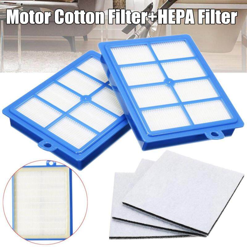2PCS Hepa Filter H12 H13+3 PCS Motor cotton filter for Philips Electrolux Vacuum Cleaner replacement parts Singapore