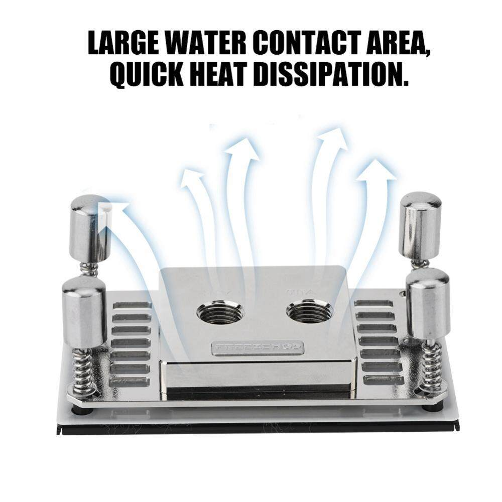 Water Cooling Block Matel Computer CPU Water Cooling Block Waterblock Liquid Cool Block Kits
