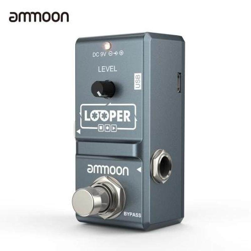 Ammoon AP-09 Nano Series Vòng Đàn Guitar Điện Tác Dụng Bàn Đạp Looper True Bypass