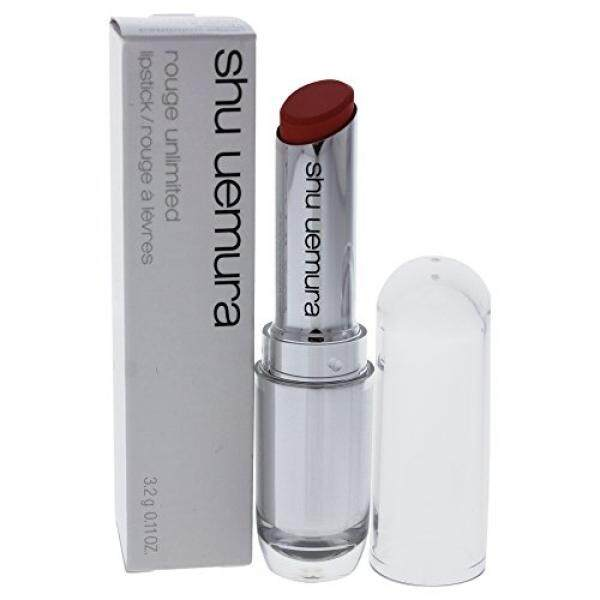 Shu Uemura Rouge Unlimited Lipstick for Women, Or 520, 0.11 Ounce