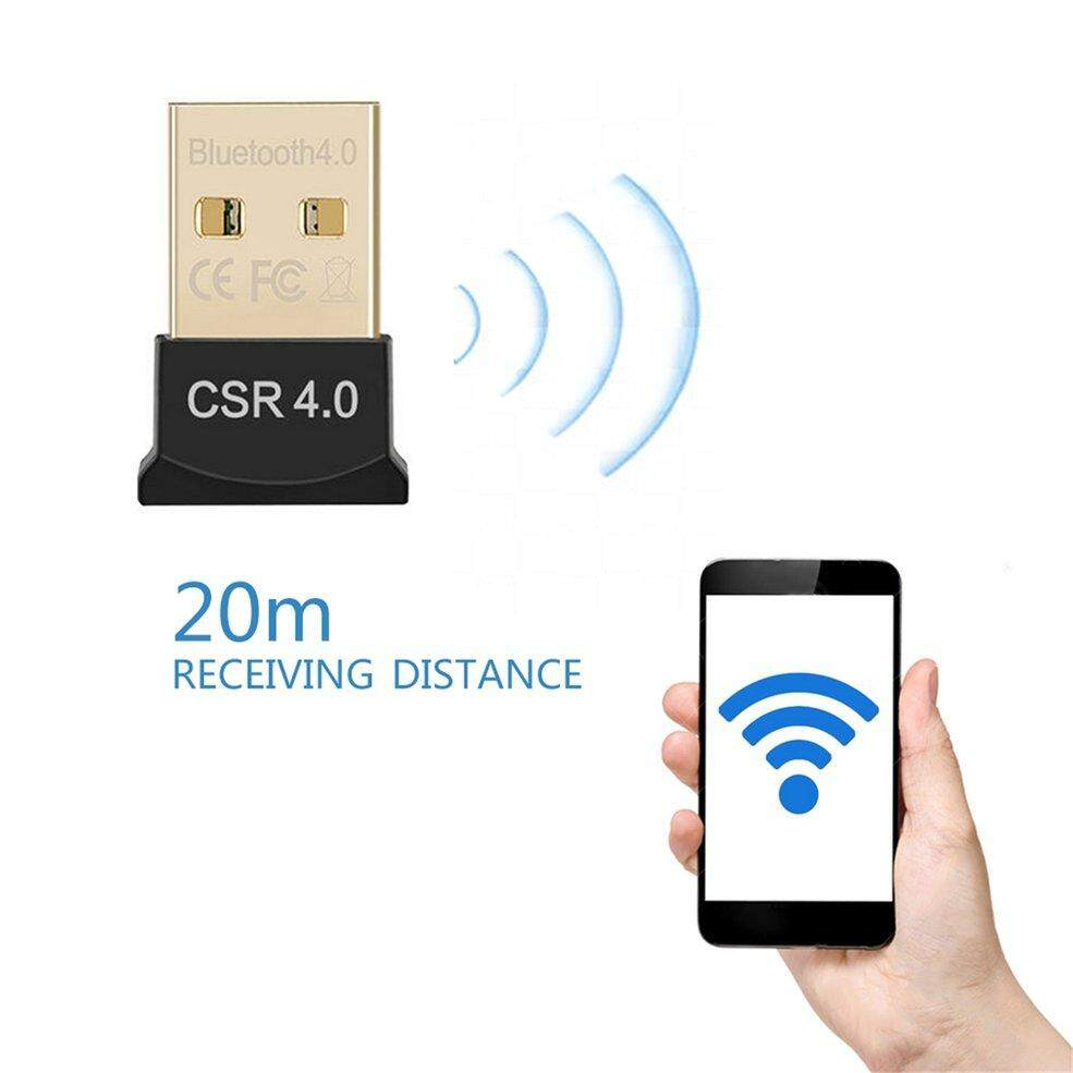 Usb 2.0 Csr 4.0 Dongle Adapter Drive-Free Audio Receiver For Pc Laptop