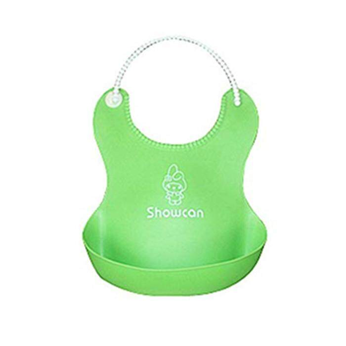 Baby Soft Roll up Bib Baby Silicone Waterproof Bib