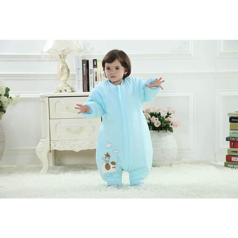 Baby Clothing Winter Cotton Thicken Warm Sleepsack Infant Todderl Baby Sleeping Bags Cartoon Printing - Intl By Aprillan International Store.