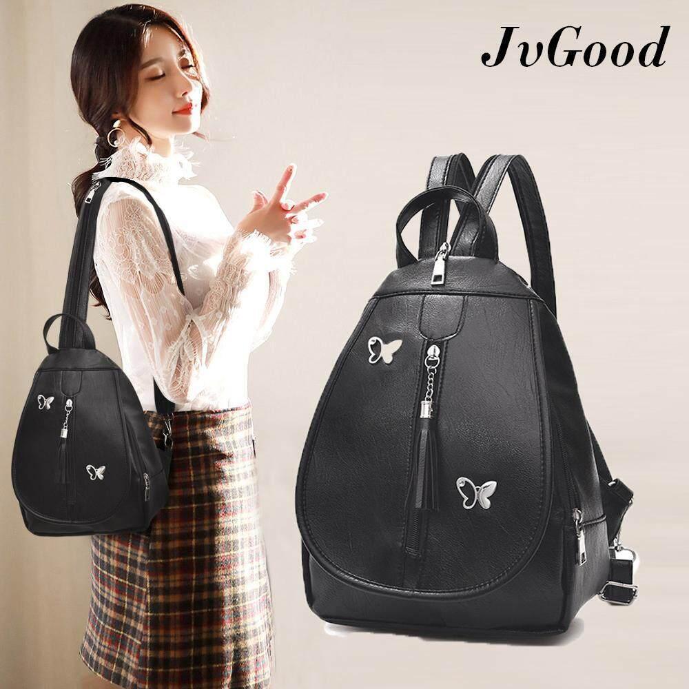 Sale Jvgood Girls Leather Small Fashion Backpack Purses Shoulder Bag Cross Body Sling Daypack Tote Bags Intl Jvgood Branded
