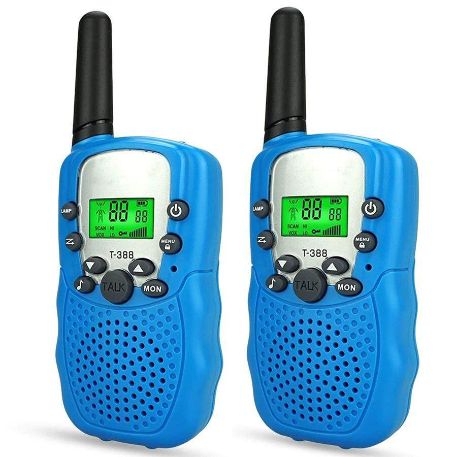 2pcs Outdoor Top Popular Toys For 4-5 Year Old Boys, Long Range Walkie Talkies For Kids Christmas Best Gifts Presents For 3-10 Year Old Boys Hiking Hunting Communication Walkie Talkies By Finnsalle.