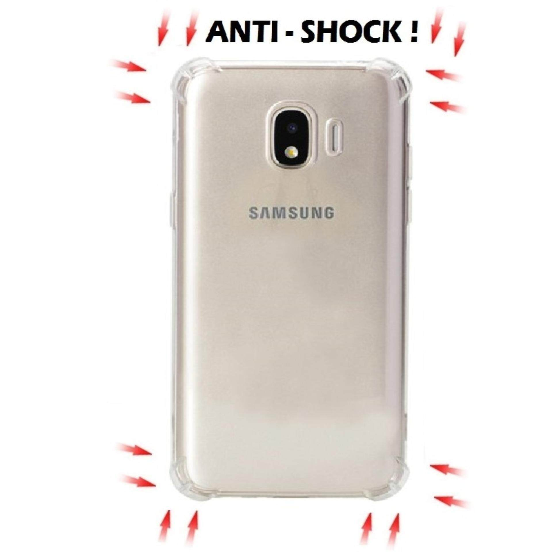 Features Samsung Galaxy J4 2018 Anti Shock Transparent Back Case