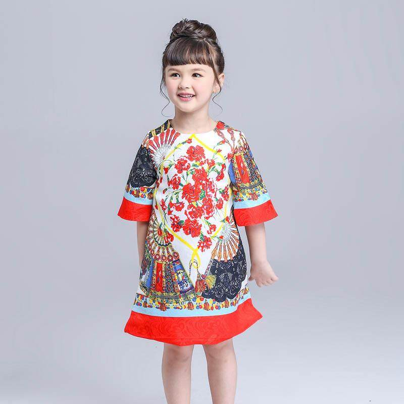 bf9db80ab Girls Clothing Dresses. 70058 items found in Dresses. Bohemian Style Girl  Dress Kids Jacquard Cotton Princess Dress Gown Formal Party One-Piece Casual
