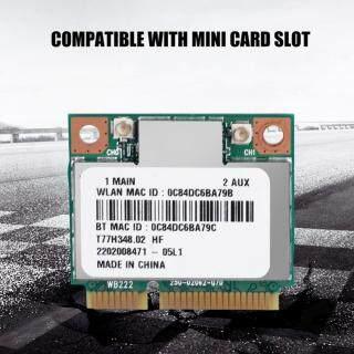 300Mbps Bluetooth 4.0 WIFI Mini PCI-E Wireless Network Card Dual Band 2.4G 5Ghz AR5B22 Network Card thumbnail