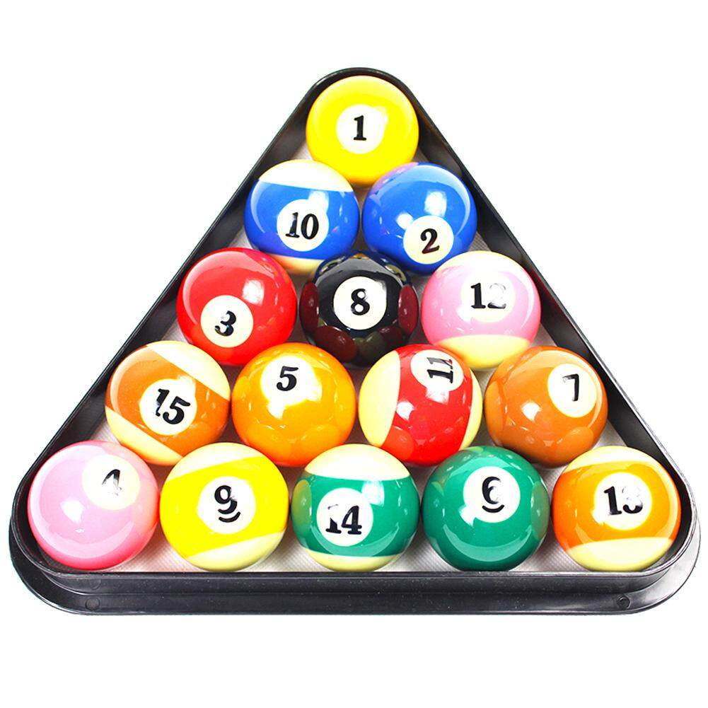 Plastic 8 Ball Pool Billiard Table Rack Triangle Rack Standard Size