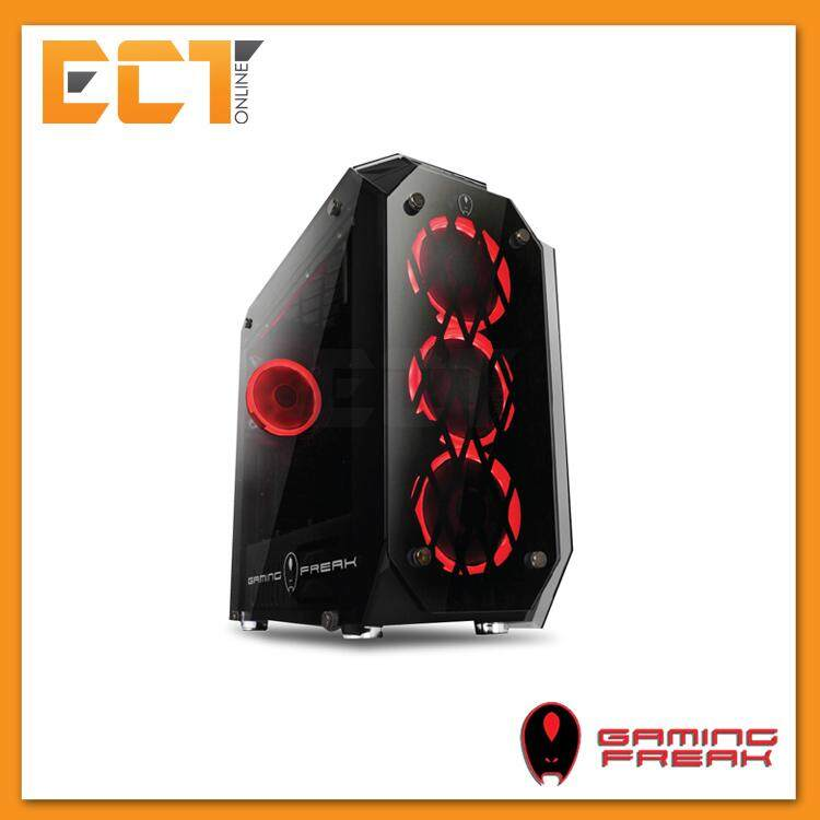AVF Gaming Freak EOS M800G Full Tempered Glass ATX Gaming Casing Chassis Malaysia